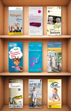 Broschüren, Flyer, Plakate etc.